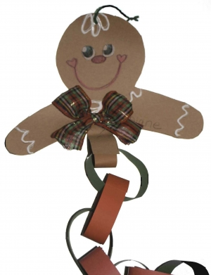 Gingerbread Paper Chain