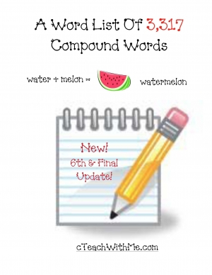 3,317 Compound Words
