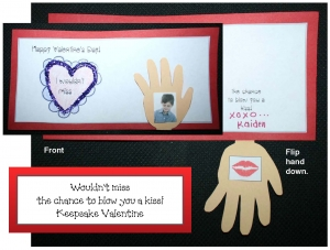 Blow A Kiss Keepsake Valentine