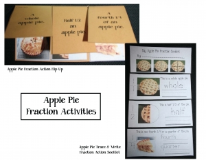 Apple Pie Fraction Activities