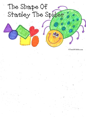 Booklet: The Shape Of Stanley The Spider
