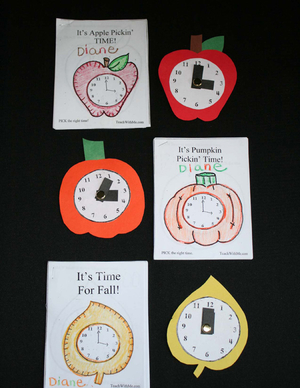 Telling Time Clock Collection Booklets I