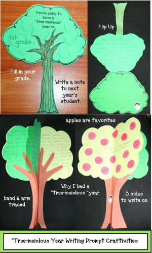"""Tree-mendous"" Year Writing Prompt Craft"