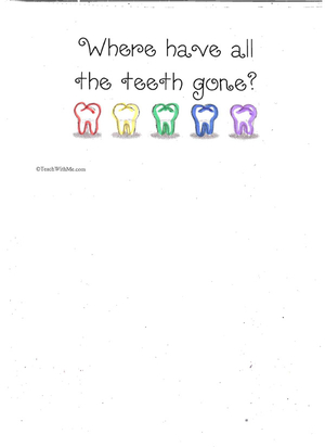 Booklet: Where Have All The Teeth Gone?