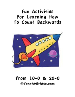 Fun Activities For Learning To Count Backwards