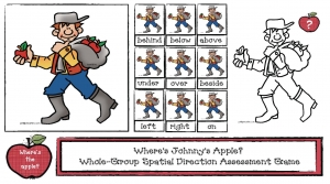 Johnny Appleseed Spatial Directions Game