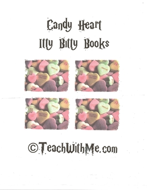Candy Heart Itty Bitty Books