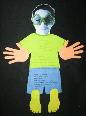 Wacky T Shirt & Shorts Writing Prompt Craftivities