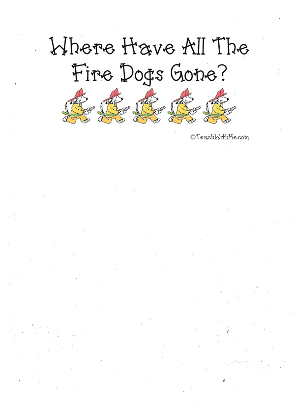 Booklet: Where Have All The Fire Dogs Gone?