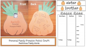 Personal Pumpkin Patch Craft