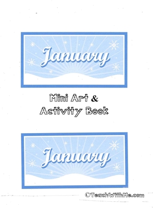 January Mini Art and Activity Book