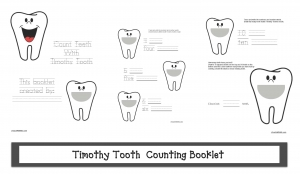Counting With Timothy Tooth Booklet