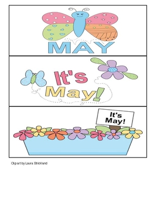 Calendar Cards For May