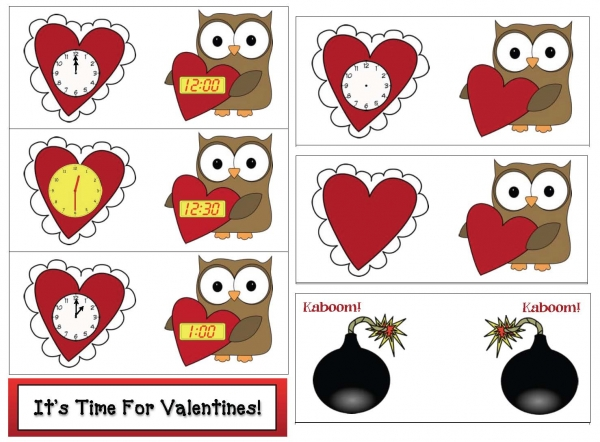 Valentine Clocks