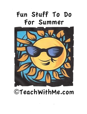 Summer Fun Book