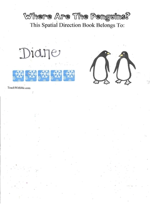Booklet: Where Are The Penguins?