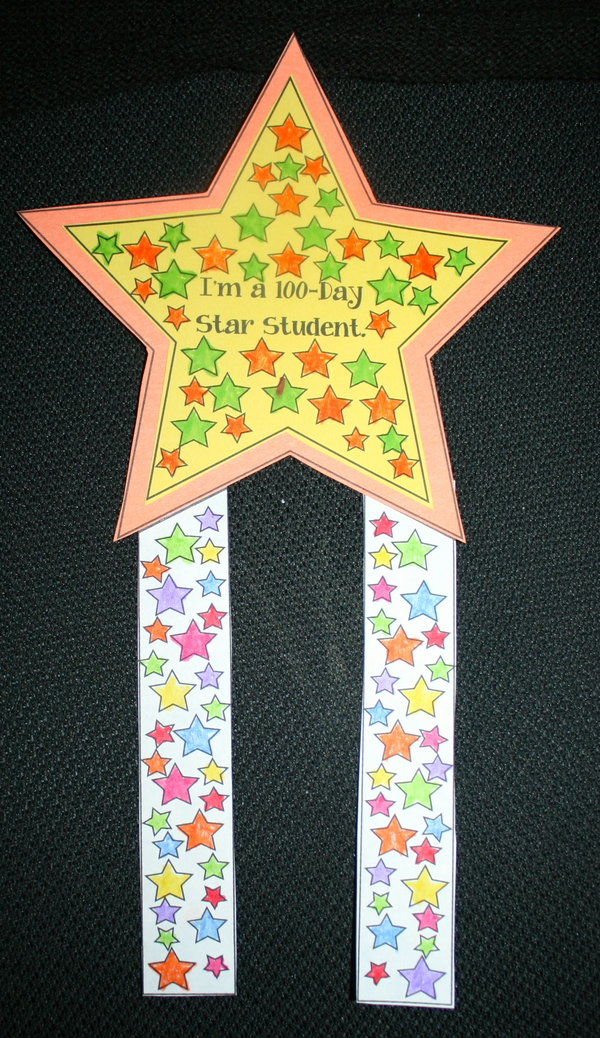 100 Day Star Badge