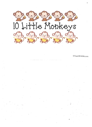 Booklet: 10 Little Monkeys