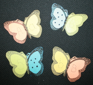 Butterfly ABC and 123 Puzzles