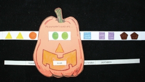 Pumpkin Eyes Shape Slider