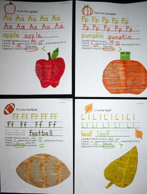 Search And Find Alphabet Craftivities For Fall