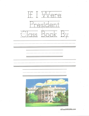 If I Were President Class Book