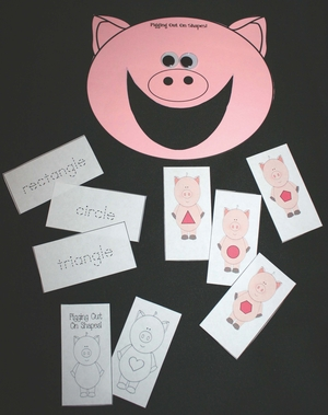 Piggy Shape Packet