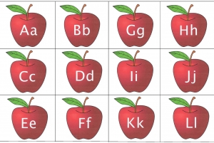 Alphabet Apples
