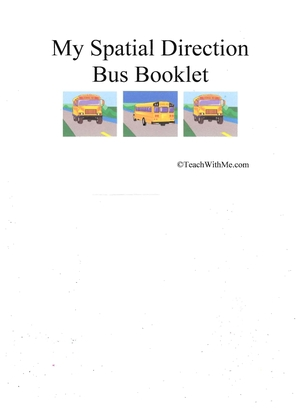 Booklet: My Spatial Direction Bus Book