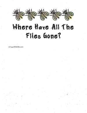 Booklet: Where Have All The Flies Gone?