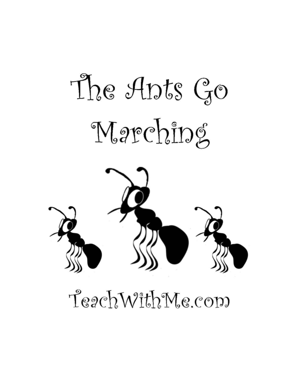 The Ants Go Marching Cards