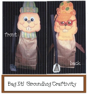 Flip-Flop Fickle Phil Groundhog Craftivity