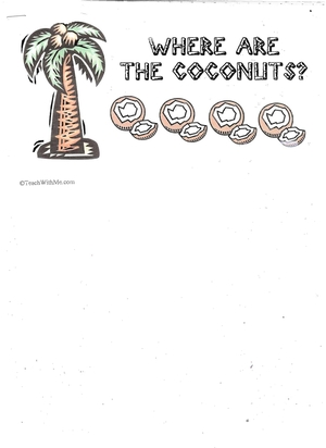 Booklet: Where Are The Coconuts?
