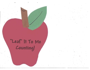 Booklet: Leaf It To Me Counting