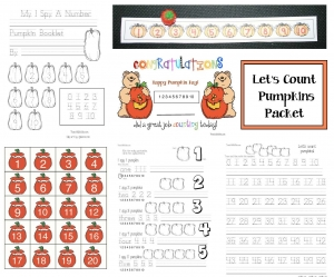 Let's Count Pumpkins