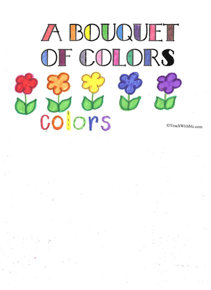Booklet: A Bouquet Of Colors