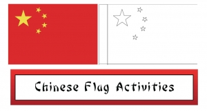 Chinese Flag Craftivity Packet