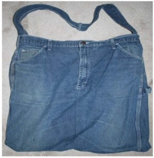 DIY Blue Jean Tote Bag