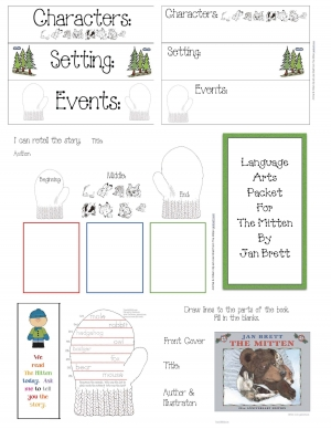 The Mitten Literacy Packet