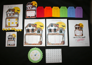 Haunted House Fact Family Packet
