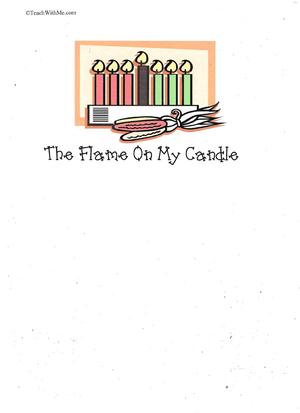 Booklet: The Flame On My Candle