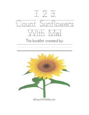 123 Count Sunflowers With Me