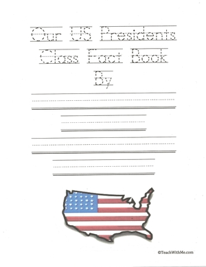 Facts About US Presidents Class Book