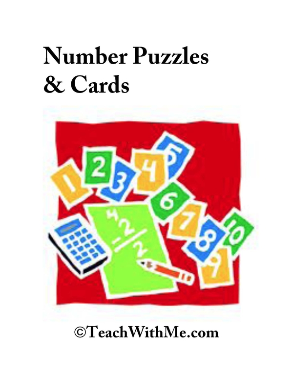 Number Puzzles and Cards