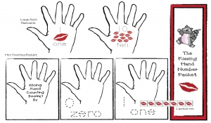 The Kissing Hand Number Packet