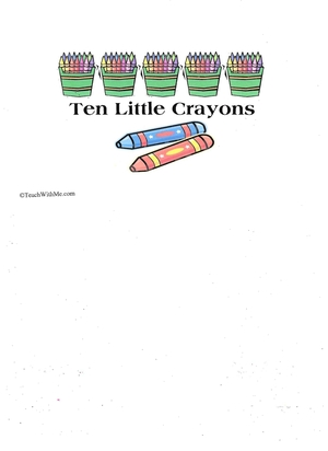 Booklet: 10 Little Crayons