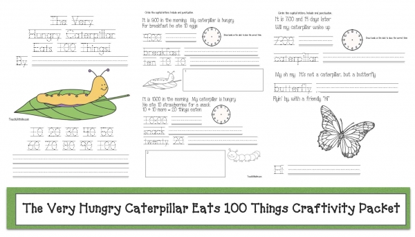 The Very Hungry Caterpillar Eats 100 Things