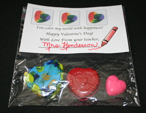 Melted Crayon Valentine Ideas