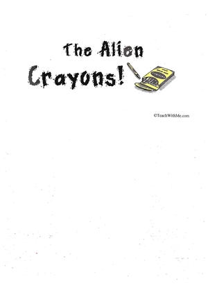 Booklet: The Alien Crayons