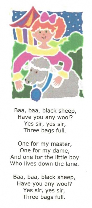 Sheep Nursery Rhymes